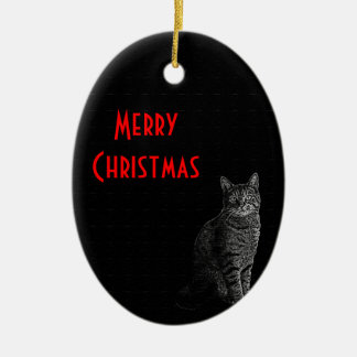 The Superior Cat Christmas Ornament