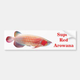 "The superior product 2 ""of Super Red Arowana"" Bumper Sticker"