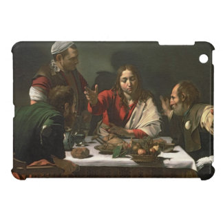 The Supper at Emmaus, 1601 (oil and tempera) Case For The iPad Mini