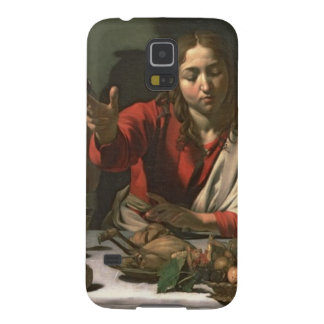 The Supper at Emmaus, 1601 (oil and tempera) Galaxy S5 Cases