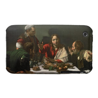 The Supper at Emmaus, 1601 (oil and tempera) iPhone 3 Cover