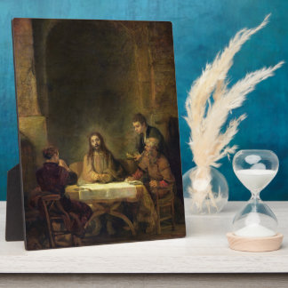 The Supper at Emmaus, 1648 (oil on panel) Display Plaques