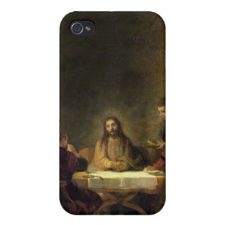 The Supper at Emmaus, 1648 (oil on panel) iPhone 4/4S Case