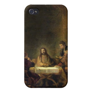 The Supper at Emmaus, 1648 (oil on panel) iPhone 4 Cover
