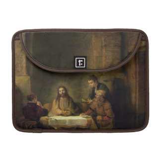 The Supper at Emmaus, 1648 (oil on panel) Sleeve For MacBook Pro