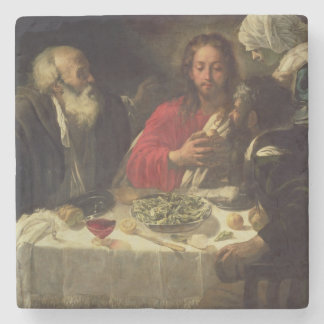 The Supper at Emmaus, c.1614-21 Stone Beverage Coaster
