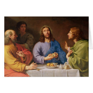 The Supper at Emmaus Card