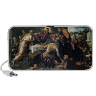 The Supper at Emmaus (oil on canvas) iPhone Speakers