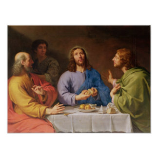 The Supper at Emmaus Poster