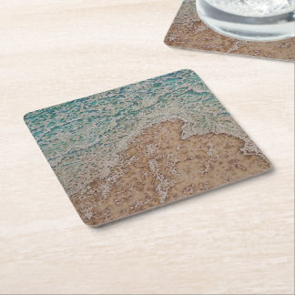 The Surf Square Paper Coaster