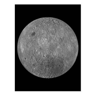 The Surface on the Far Side of Earth s Moon Postcard