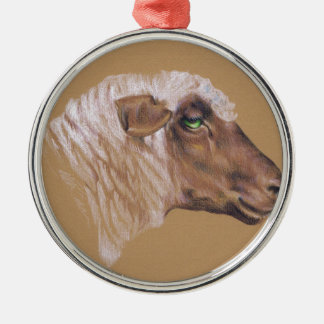 The Surly Sheep Christmas Ornament