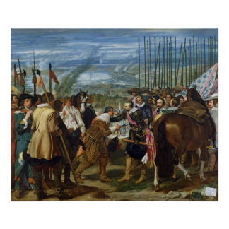 The Surrender of Breda, 1625, c.1635 Poster