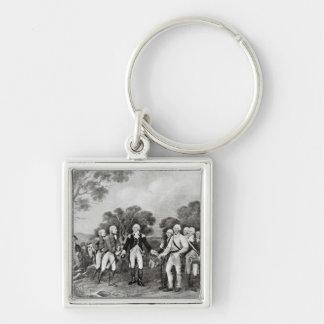 The Surrender of General Burgoyne Saratoga Keychains