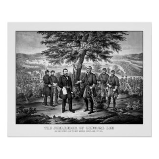 The Surrender Of General Lee Poster