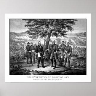 The Surrender Of General Lee Poster