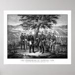 The Surrender Of General Lee Print