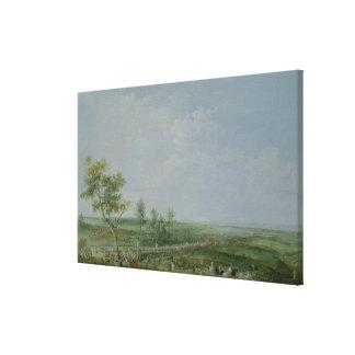 The Surrender of Yorktown Canvas Print