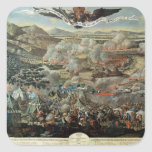 The Surrounding of Vienna by the Turks in 1683 Square Sticker