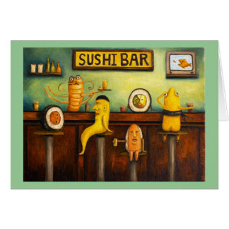 The Sushi Bar Card