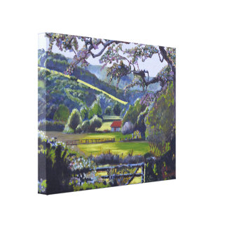 The Sussex Downs at Westmeston near Lewes Canvas Print