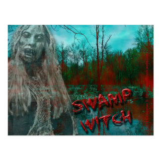 The Swamp Witch Postcard