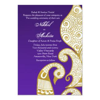 The Swan Golden Invitation