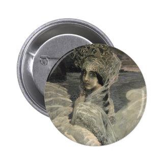 The Swan Princess, 1900 6 Cm Round Badge