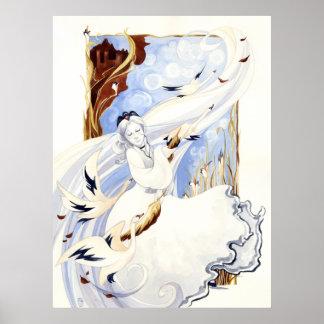 The Swan Queen Print