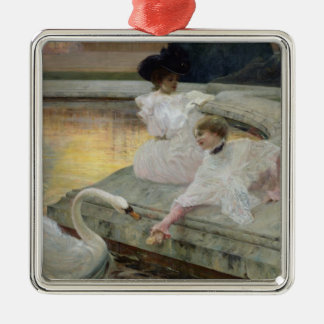 The Swans, 1900 Christmas Ornament