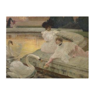 The Swans, 1900 Wood Prints