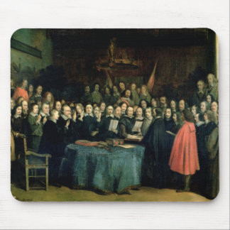 The Swearing of the Oath of Ratification Mouse Mat