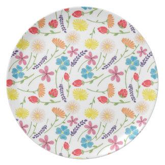 The Sweet Little Flowers Dinner Plate