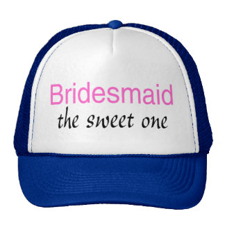 The Sweet One Bridesmaid Mesh Hat