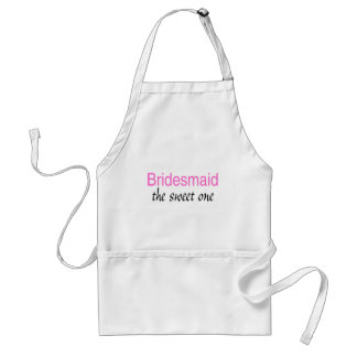 The Sweet One (Bridesmaid) Standard Apron
