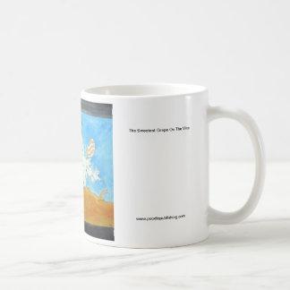 The Sweetest Grape On The Vine Basic White Mug