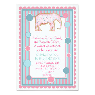 The Sweetest Little Circus Invitation