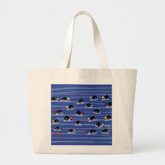 The Swimmers Large Tote Bag