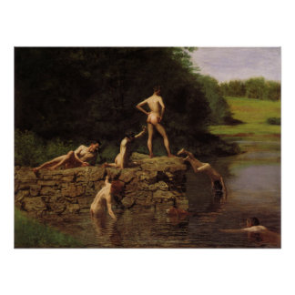 The Swimming Hole Poster