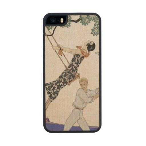 The Swing, 1920s Carved® Maple iPhone 5 Slim Case