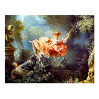 The Swing by Fragonard Postcard