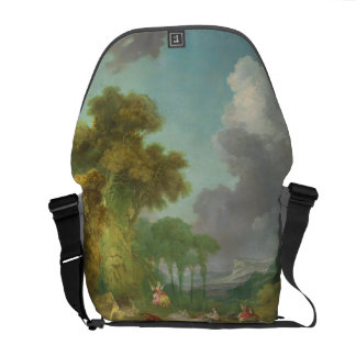 The Swing by Jean-Honore Fragonard Courier Bag
