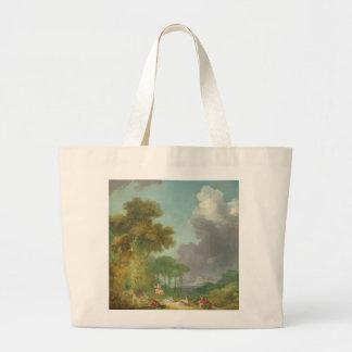 The Swing by Jean-Honore Fragonard Jumbo Tote Bag