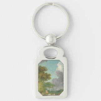 The Swing by Jean-Honore Fragonard Keychain