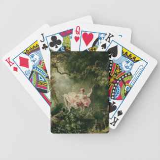 The Swing (oil on canvas) Bicycle Playing Cards