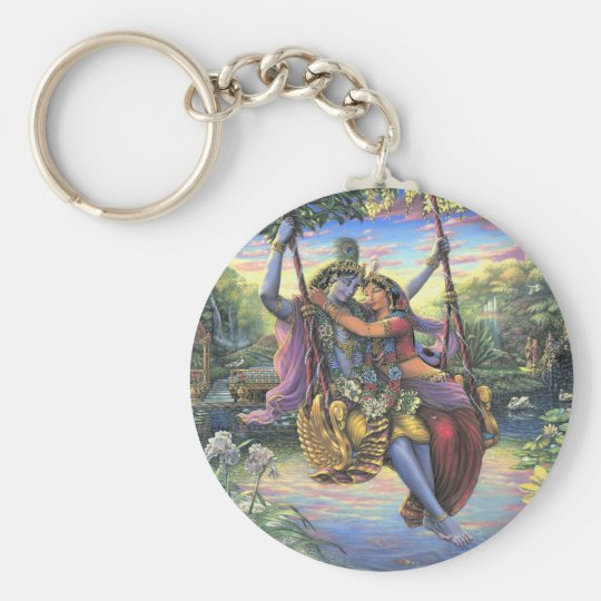 The Swing Pastime - Radha and Krishna Key