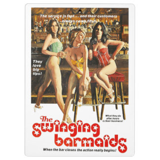 The Swinging Barmaids Clipboard