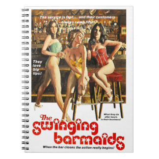 The Swinging Barmaids Notebook