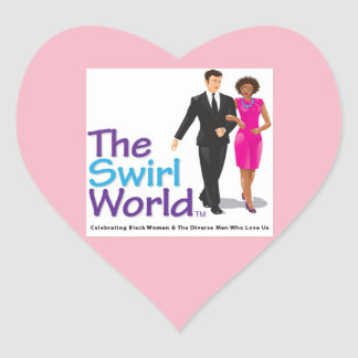 The Swirl World Logo Sticker