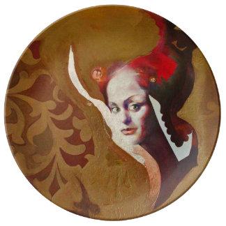 THE SYBIL [kitchen] Porcelain Plate